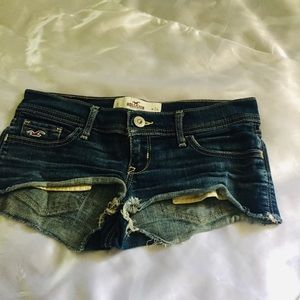 Hollister Jeans Shorts Size 24""